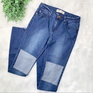 Cotton On Patchwork Patch Skinny Jeans 6